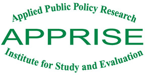 APPRISE – Applied Public Policy Research Institute for Study and Evaluation Logo